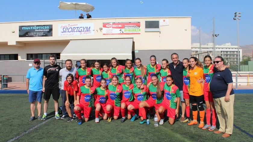 El fútbol femenino se va de Feria