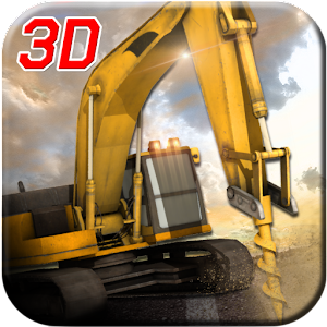Road Construction Crane Driver for PC and MAC