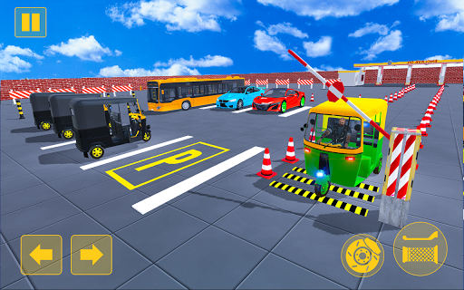 Rickshaw Driving Adventure u2013 Tuk Tuk Parking Game apkmind screenshots 5