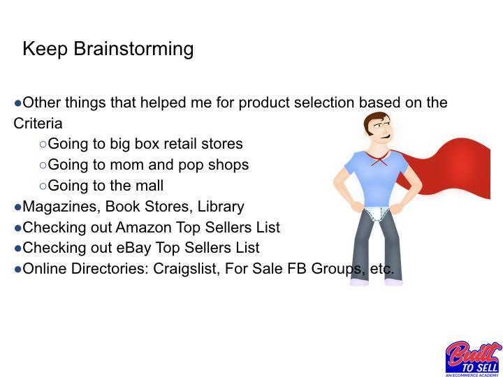 Идеи для продаж