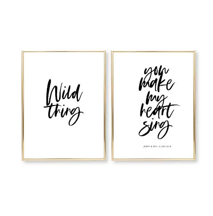 WILD THING - PARPOSTERS 2 ST POSTERS