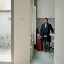 Photo: title: Carl Haase, Ghent, Belgium date: 2015 relationship: friends, art, met through art world Portland years known: 5-10