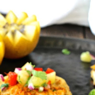 Chesapeake Bay Crab Cakes with Tropical Kiwi Salsa