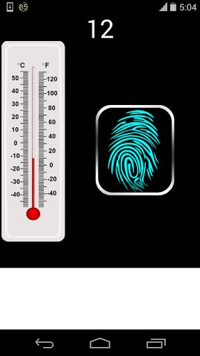 fake body temperature