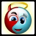 Smiley War Angel x Devil Free icon