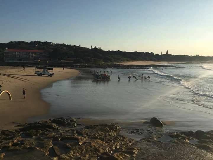 Sardines were netted on Monday morning at St. Michaels on the KZN South Coast.