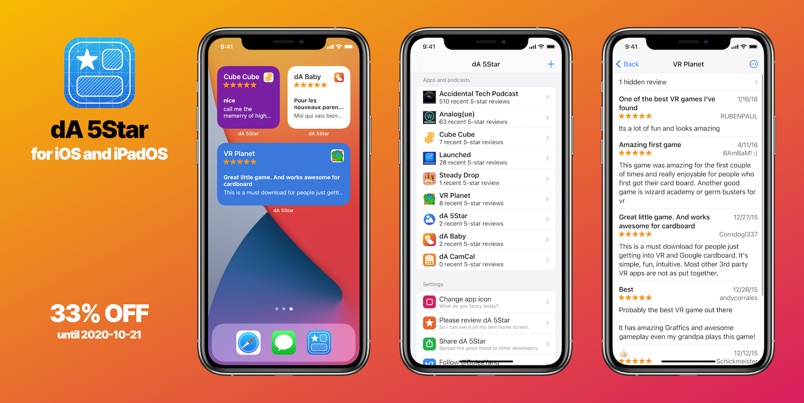 DA 5Star for iOS and iPadOS is Launched