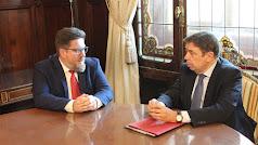 Encuentro de los titulares de Agricultura de Andalucía y España