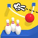 Line Cut Bowling icon