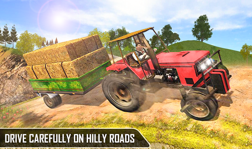 Offroad Pickup Cargo Tractor Trolley Transport android2mod screenshots 6