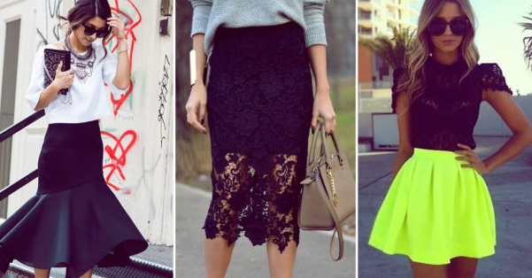 A skirt for each style, which one suits you best?