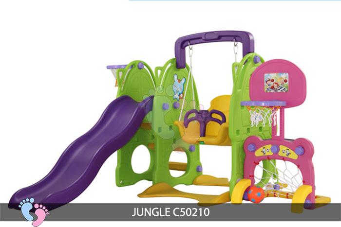 Cầu trượt cho bé Jungle C50210 2