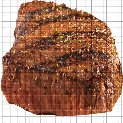 This texture pack adds steak