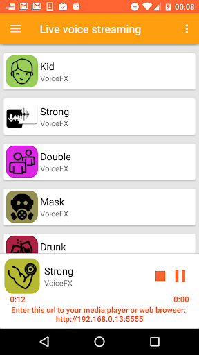 VoiceFX - Voice Changer with voice effects 1.1.0h screenshots 6