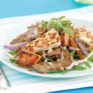 Beef and Halloumi Salad