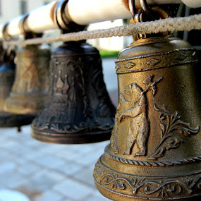 Bells by Anna Cole - Artistic Objects Musical Instruments ( bell, russia, yaroslavl, musical instrument, musical, musical instruments, bells, россия, ярославль, historical,  )