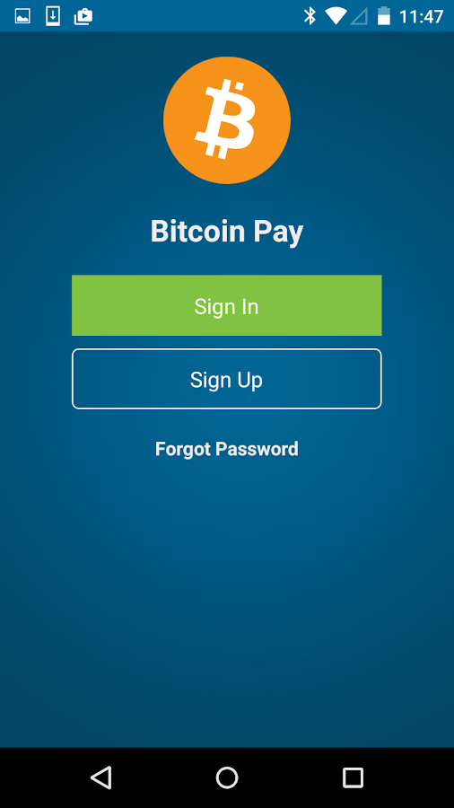 Bitcoin Pay- screenshot