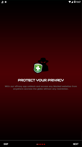 X Web Proxy Unblock Sites 3.0 screenshots 3