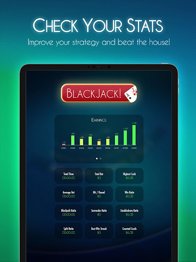 Blackjack! u2660ufe0f Free Black Jack Casino Card Game 1.7.0 screenshots 17