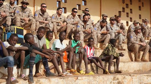 """La Legión regresa a Mali por """"un pueblo, una meta, una fe"""""""