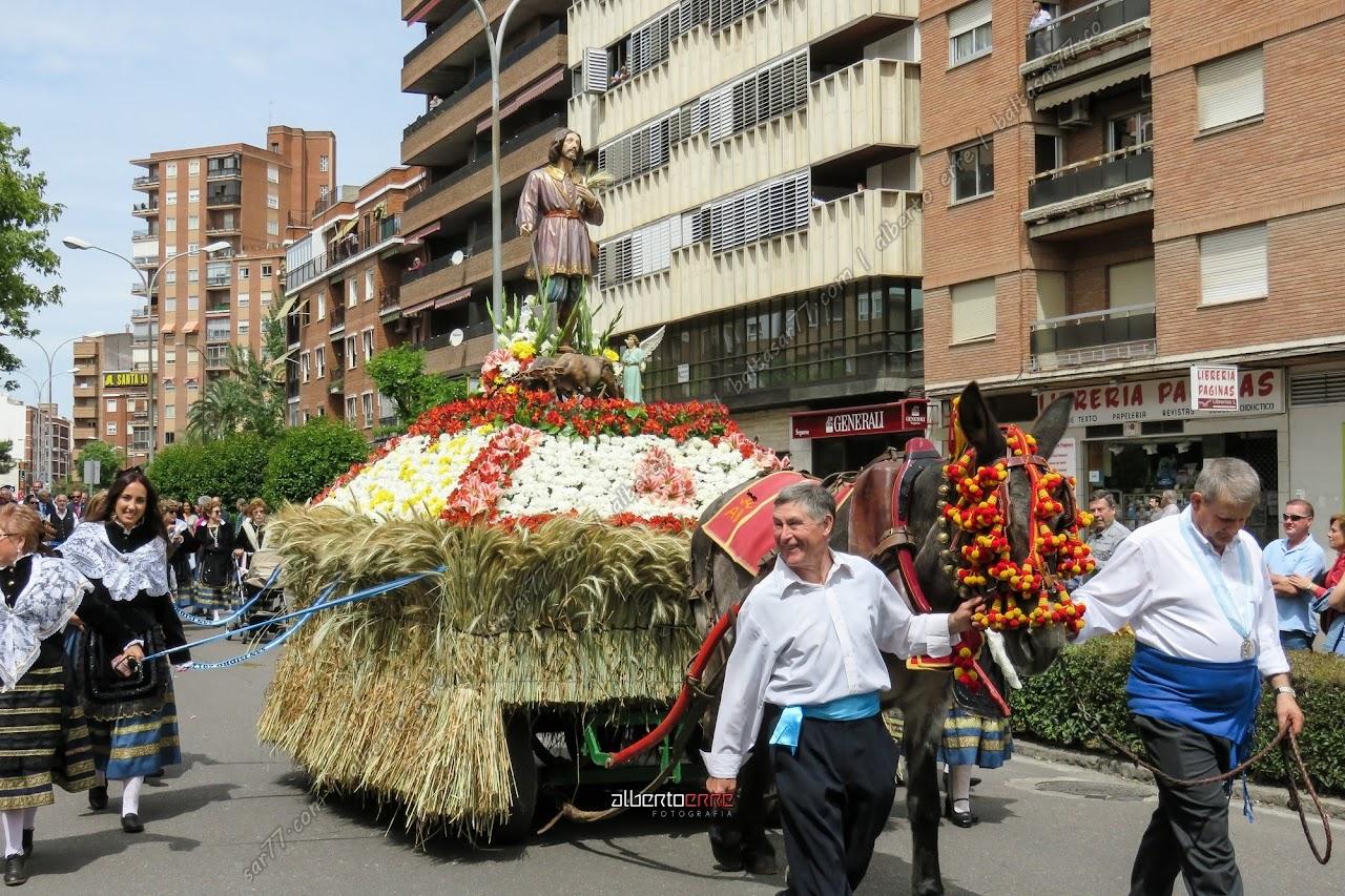 desfile carrozas san isidro talavera 2017