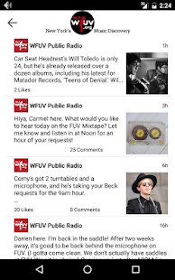 WFUV- screenshot thumbnail