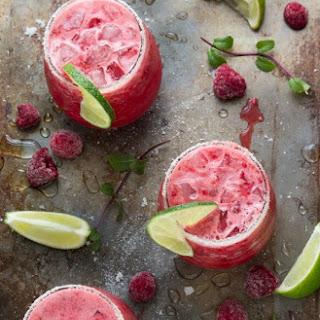 Raspberry Limeade Slush.