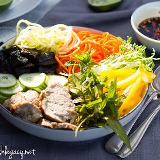 Lemongrass Pork Noodle Salad