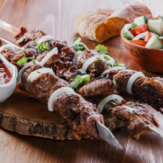 Skewers of Lamb by Georgian
