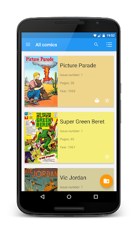 Material Comic Viewer Pro Screenshot