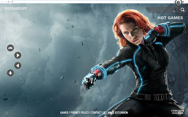 Black Widow HD Wallpapers New Tab