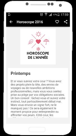 android Horoscope 2016 en Français Screenshot 19