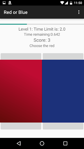 Red or Blue - Game of Choices