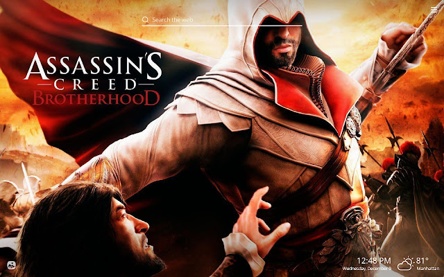 Assassin's Creed HD Wallpapers New Tab Theme