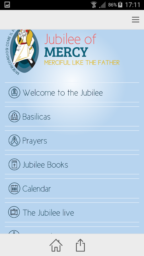 Jubilee of Mercy- screenshot