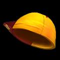 黄色いやきゅう帽