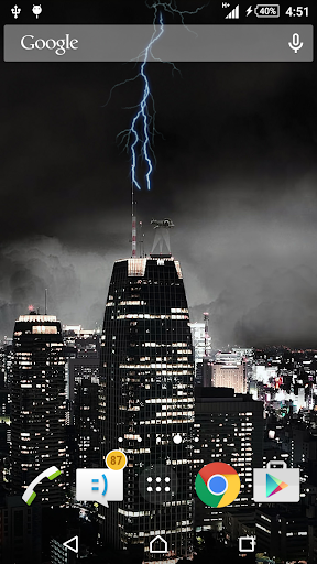 Lightning Live Wallpaper
