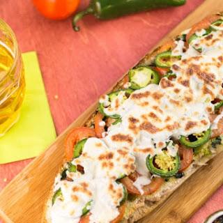 Easy Pesto Pizza Bread