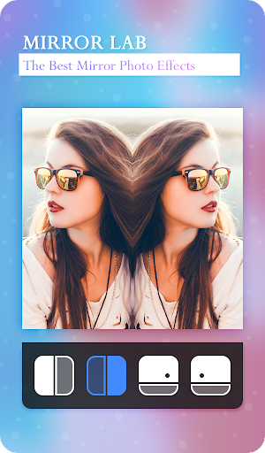 MIRROR LAB : Photo Mirror Editor & 3D Mirror 2.1 screenshots 1