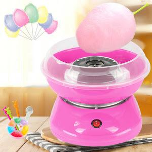 Masina pentru facut vata de zahar pe bat, 450W