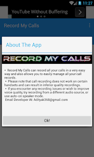 Record My Calls- screenshot thumbnail