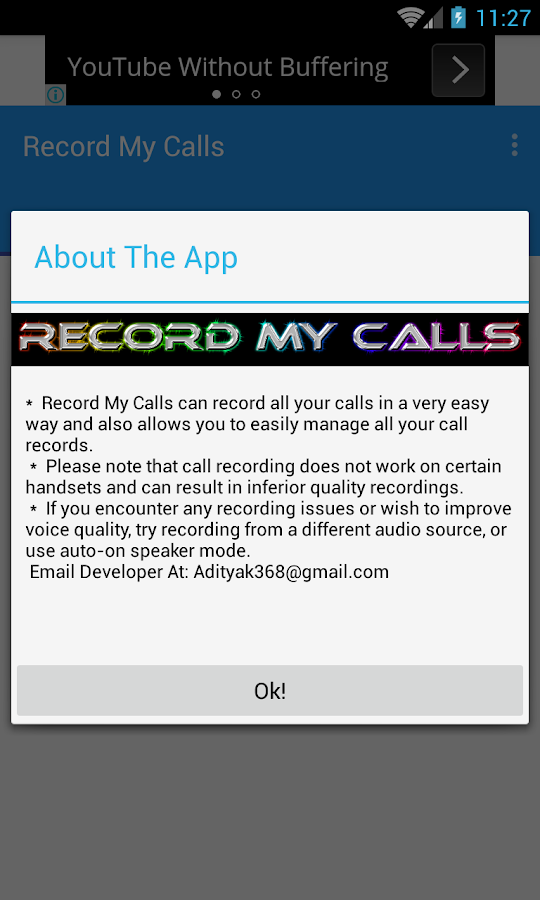Record My Calls- screenshot