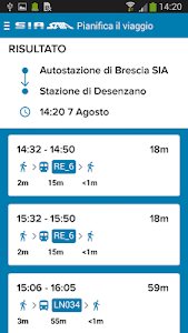 ARRIVA Brescia screenshot 3