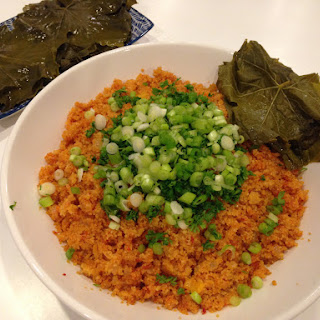 Armenian Warm Bulgur Salad With Vine Leaves – Eech
