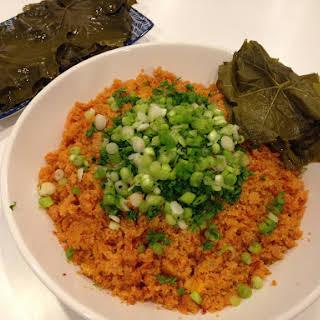 Armenian Warm Bulgur Salad With Vine Leaves – Eech.