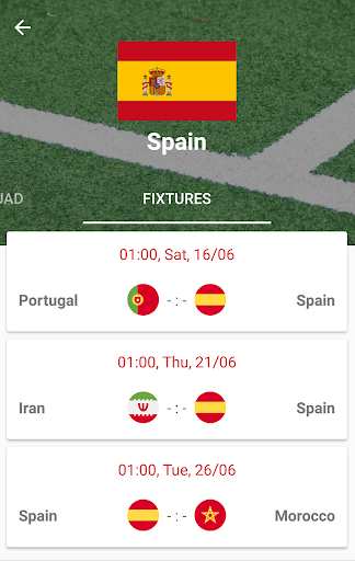 World Cup 2018 Live Scores & Fixtures 2.0.1 screenshots 7