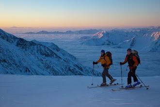 Photo: Skitour Fineilspitze, Oetztaler Alpen, Tirol, Oesterreich.