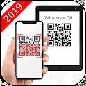 Whatscan: QR Code Scanner & whats web icon