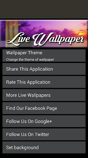 玩個人化App|Sunset Live Wallpaper免費|APP試玩