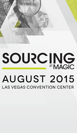 SOURCING at MAGIC August 2015